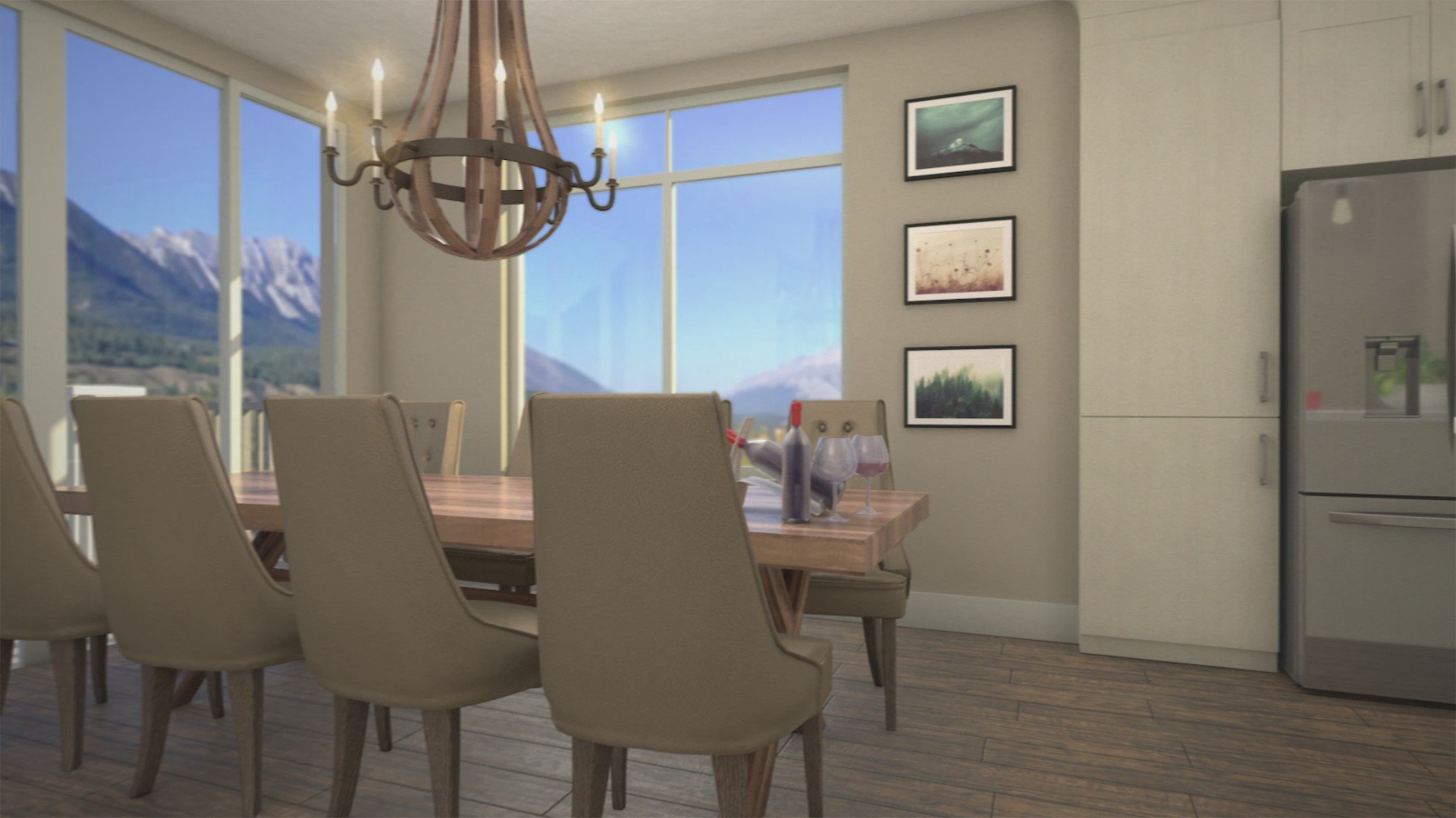 Canmore Condos Dining Area